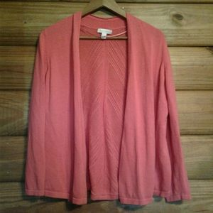 Charter Club Coral Cardigan Shrug Sweater Large